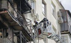 Во время пожара в сталинской высотке пострадала квартира солистки «Геликон-оперы»