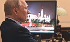 Венедиктов показал видео возвращения Путина в Кремль