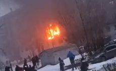 Очевидцы рассказали подробности взрыва в Магнитогорске: «Горит с двух сторон»