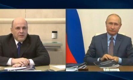 Мишустин детализировал Путину план спасения экономики за 5 триллионов