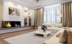 Мебель в интерьере гостинной