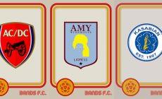 Два британца объединяют футбол и музыку на логотипах (есть даже ФК «Москва»). Так классно, что к ним пришли «Сити» и «Рома»