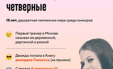 Саша Трусова – рожденная прыгать четверные. Хотя тренер помнит ее деревянной и дерганой