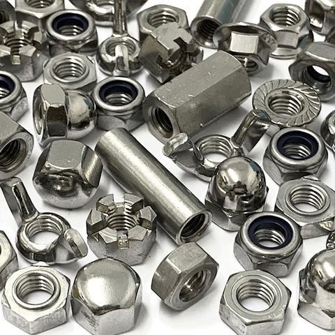 Материалы для крепежей: нержавеющая сталь